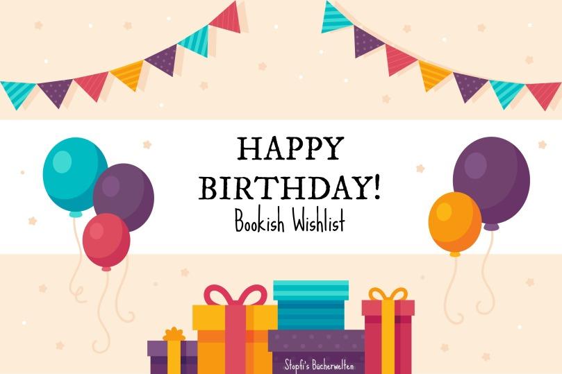 bookish b day wishlist