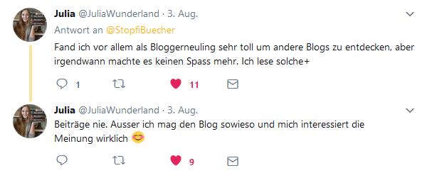 umfrage twitter blogaktionen 3