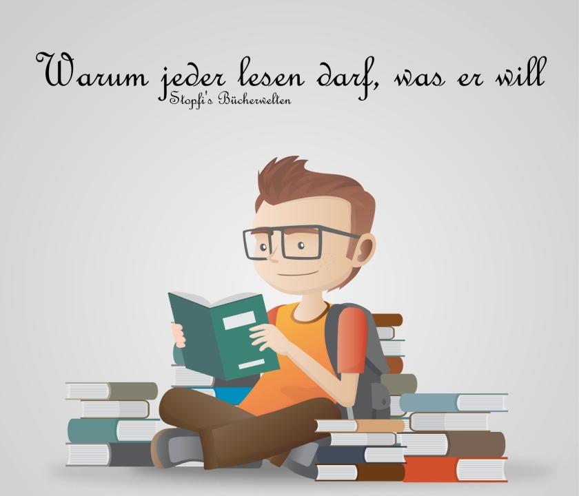 warum jeder lesen darf, was er will