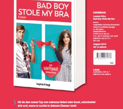 bad boy stole my bra irreführender slogan